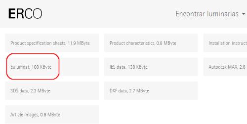 Catálogo On-line ERCO