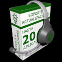Imagen de Soporte y actualización de hasta 20 programas