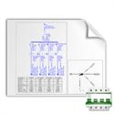 Imagen de Ejemplo BTwin: Esquema pulsador varios circuitos